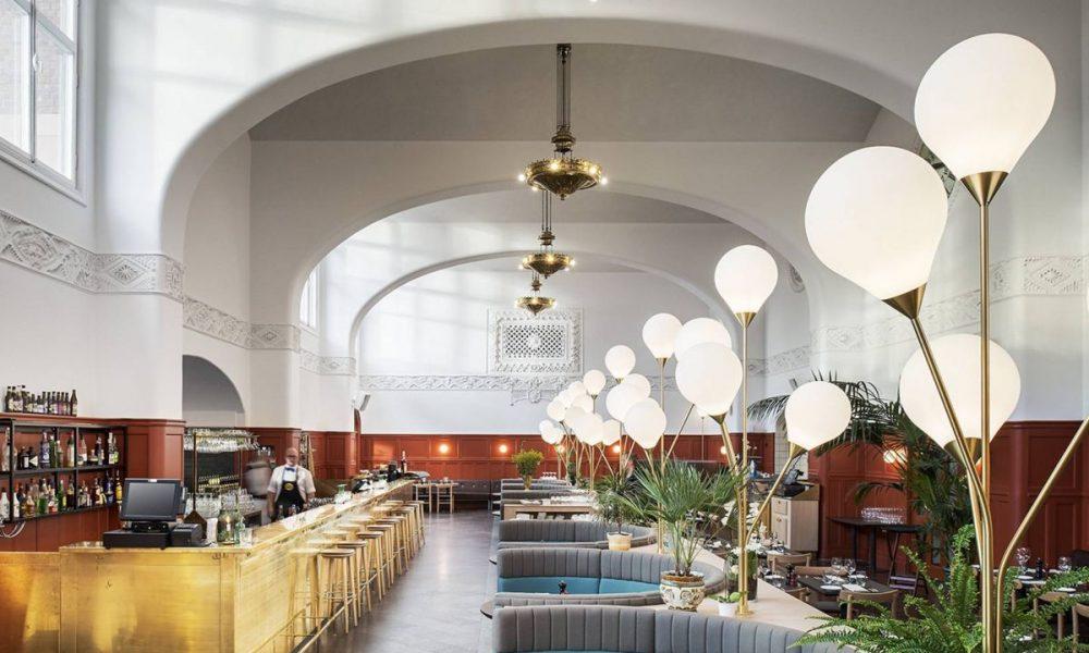 kp brasserie inside