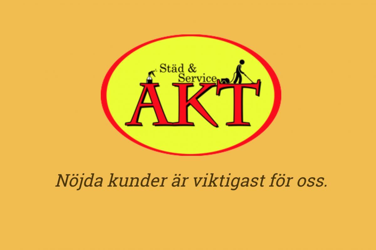 akt städservice logo