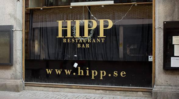 hipp restaurant and bar outside
