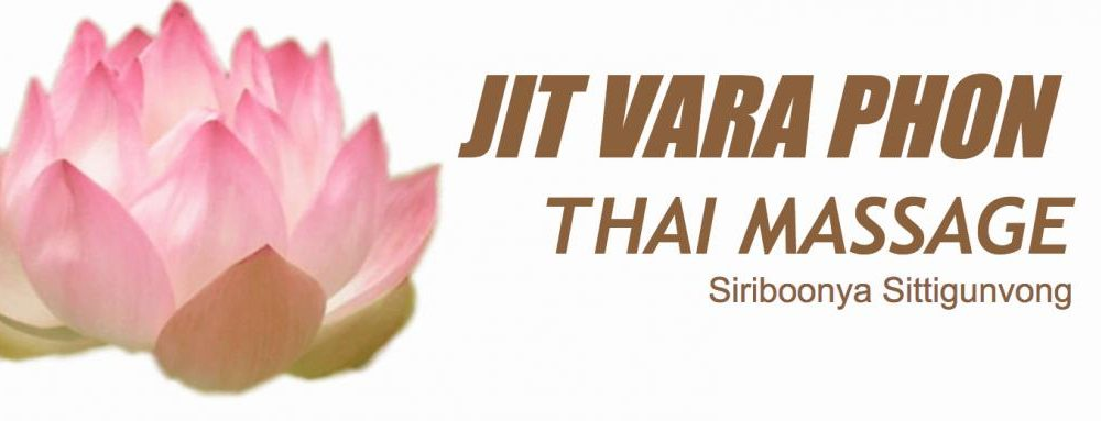 jit vara phon thai massage logo