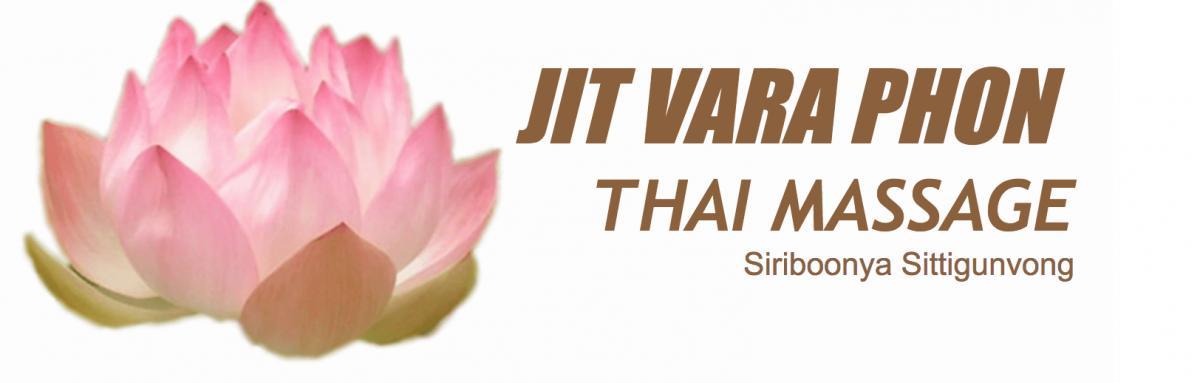 jit vara phon thai massage logo