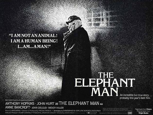 The elephant man movie poster