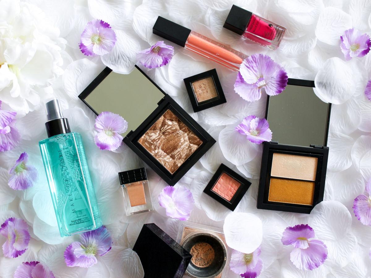 Make Up Store Face Mist Bronzer Wonder Powder North Star Dou Moonshadow Microshadow Nail Polish Lip Gloss Review