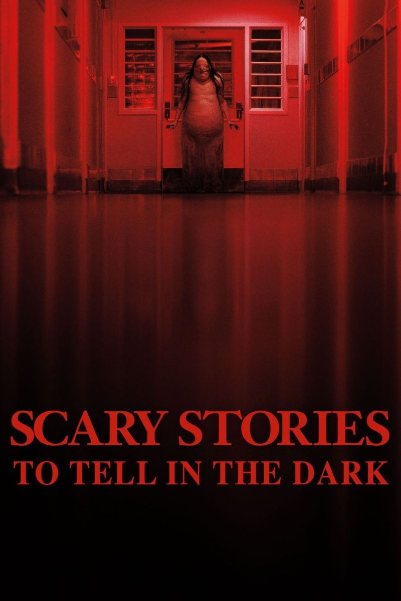 Movie poster of scary stories to tell in the dark