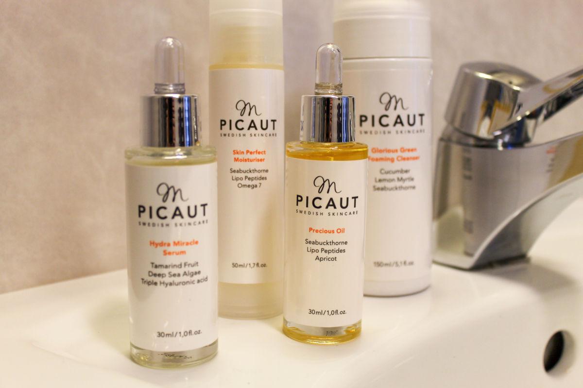 M Picaut Serum Precious Oil Skin Perfect Moisturiser Foaming Cleanser
