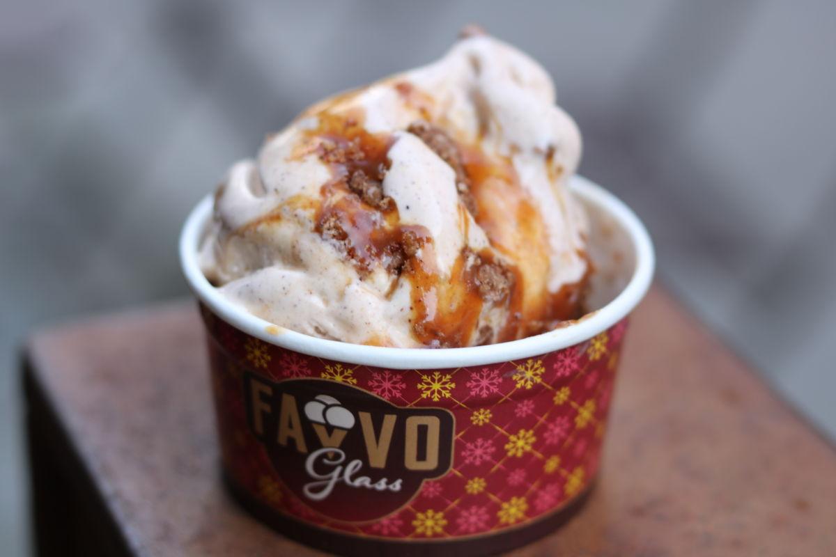Favvo Glass Kanelbulle ice cream