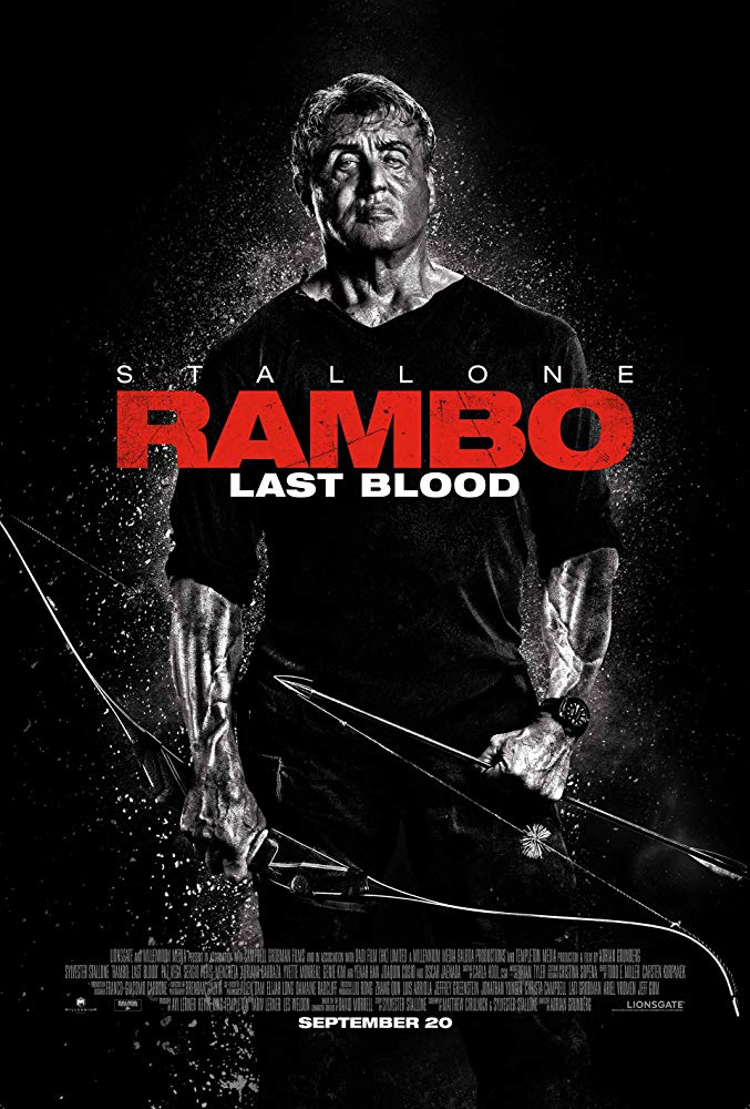 Movie poster of Rambo