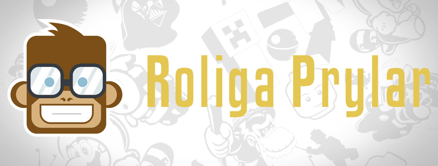 Roligaprylar.se gadgets nerd maskerad